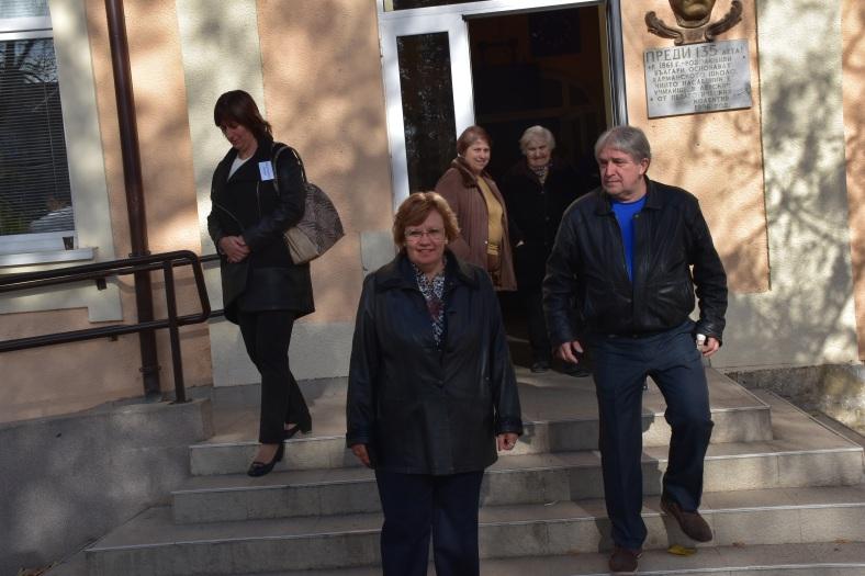 Семейство Маринови след гласуването