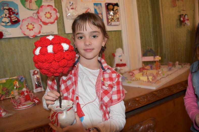 Вероника Чаврова с мартеницата